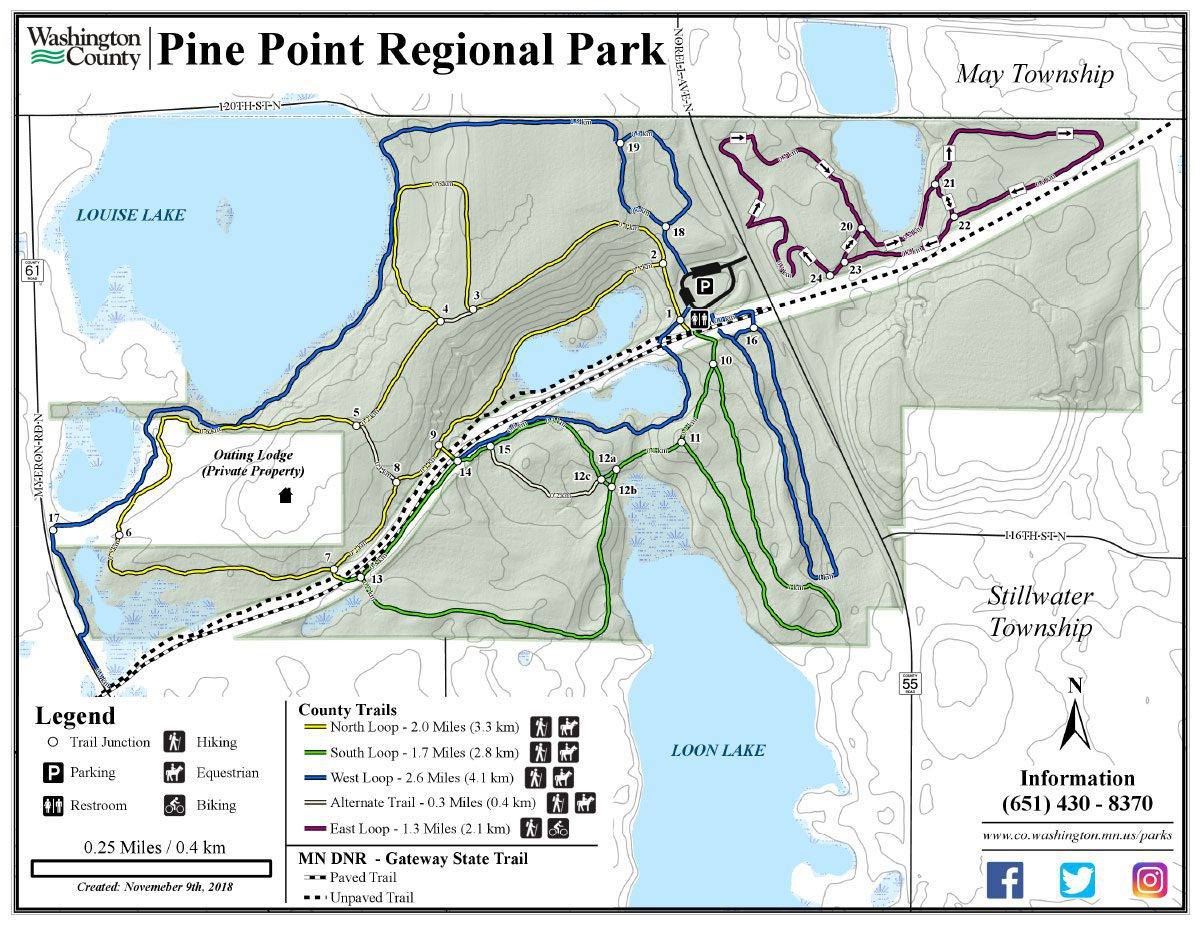 Pine Point Summer Trails