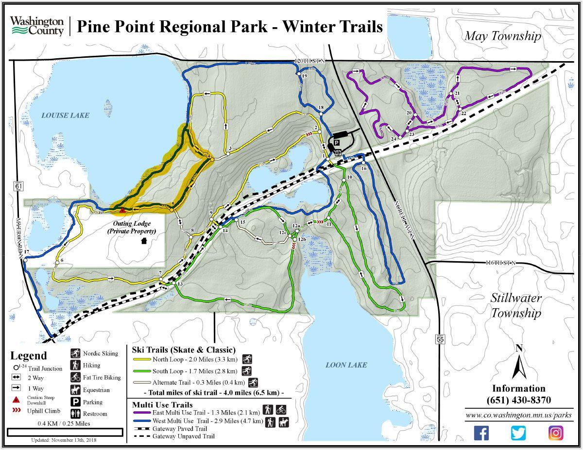 Pine Point Winter Trails