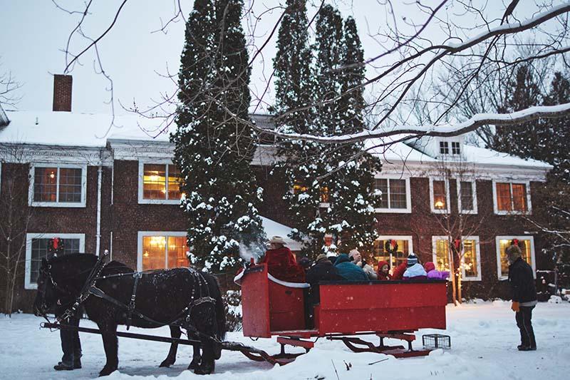 The Outing Lodge Sleigh Ride December 2013 Photo By Joe Lemke 030